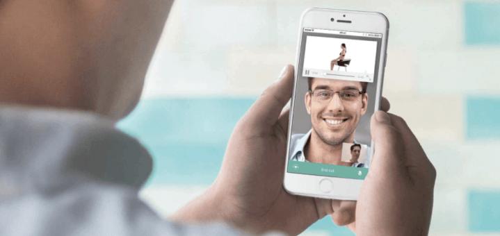 Maak een online videoafspraak met onze fysiotherapeuten